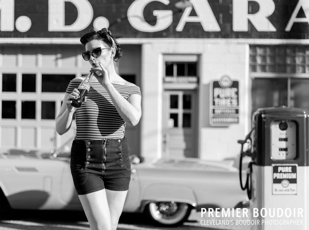 Cleveland + Akron Pinup Boudoir Vintage Retro Photography