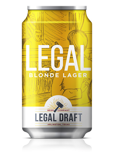 Beer legal draft beer company legal blonde lager 48 abv 18 ibu sciox Image collections