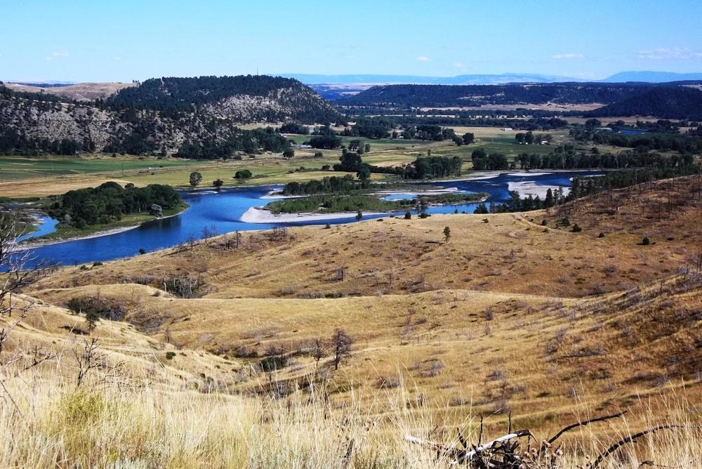 Yellowstone River, Montana USA -  LOT 220 - SOLD 2015