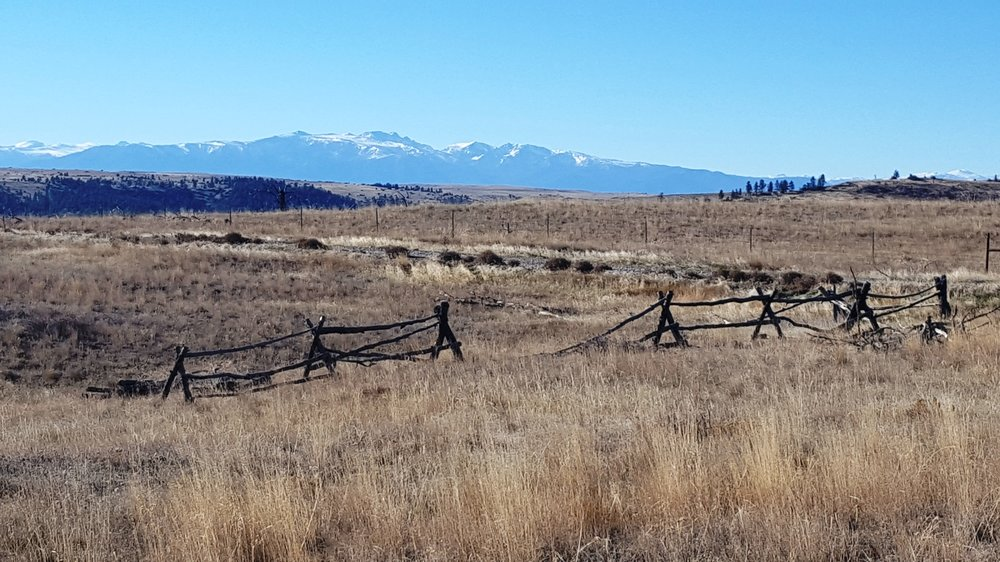 SOLD 2018 - LOT 218 YELLOWSTONE RIVER RANCH - Beartooth Mountains (Background)