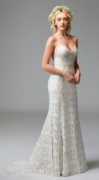 Front view of Vivienne by Willowby, available in Kansas City at Bridal Extraordinaire