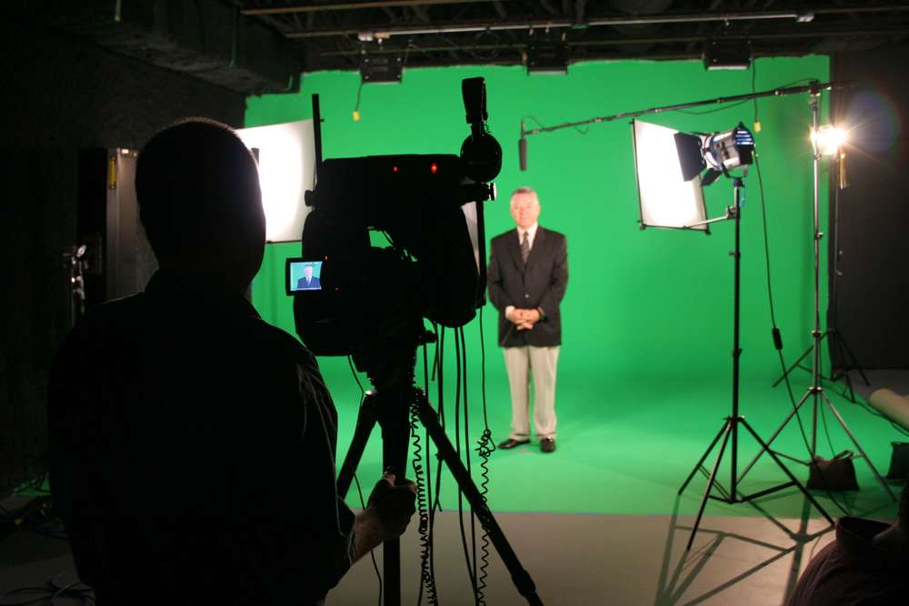 Scott from Whitney Media, Working with SunTrust on an internal video presentation.