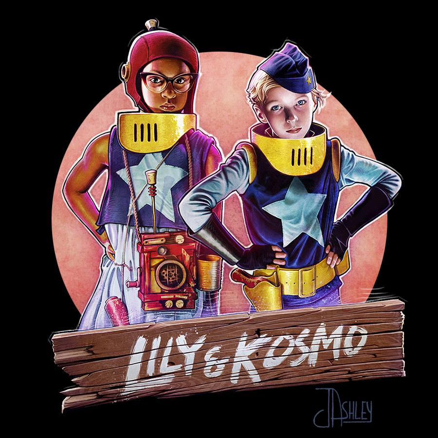 Lily and Kosmo