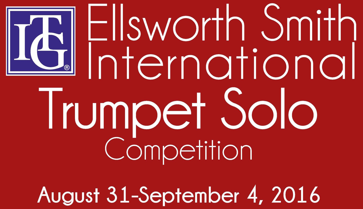 2016 Ellsworth Smith International Trumpet Solo Competition