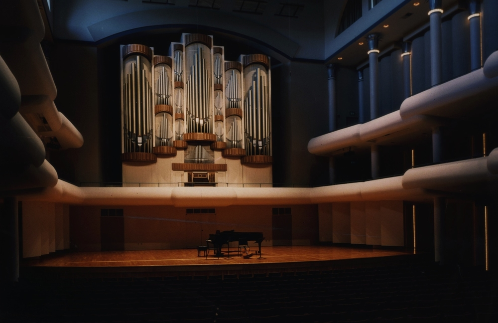 Frank M. Moody Music Building Concert Hall at the University of Alabama School of Music