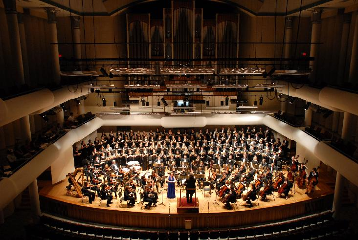The University of Alabama's Huxford Symphony Orchestra