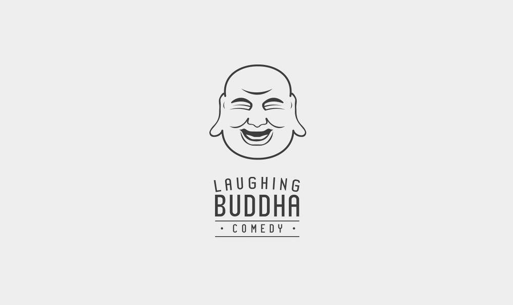 Laughing Buddha Comedy Logo