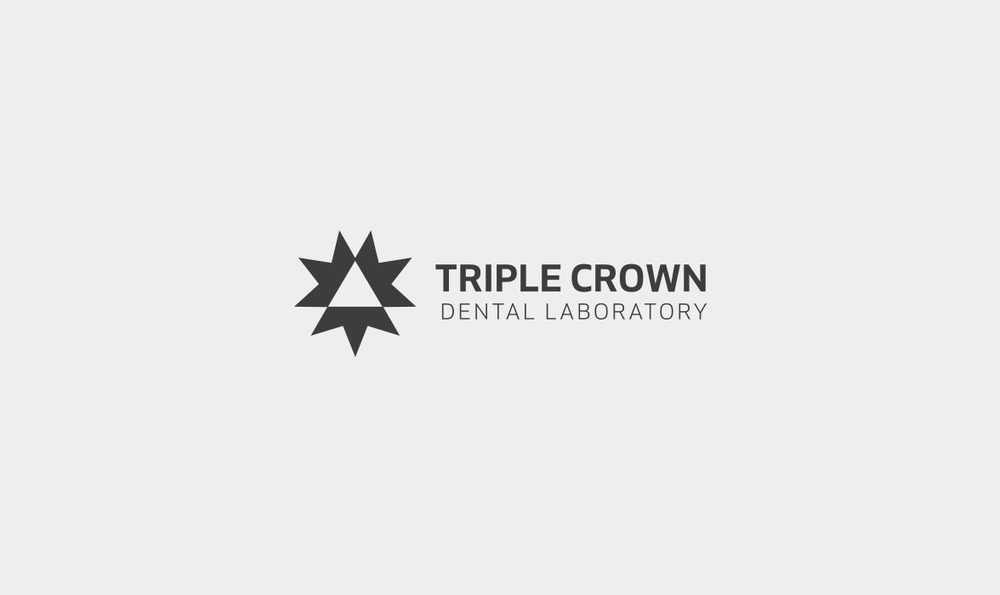 Triple Crown Dental Laboratory Logo