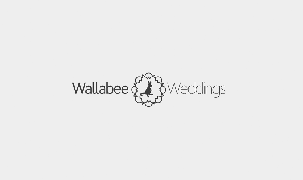 Wallabee Weddings Logo