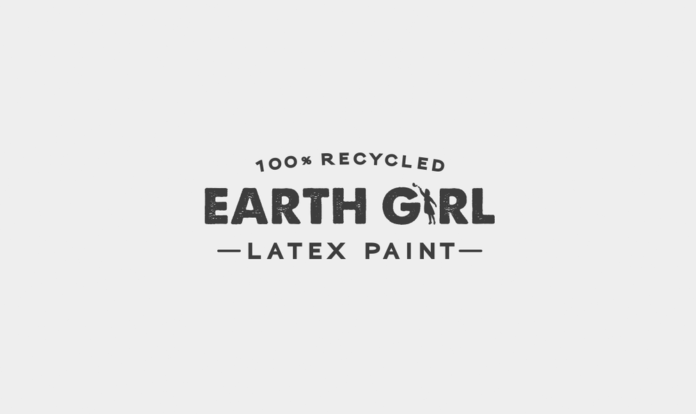 Earth Girl Latex Paint Logo