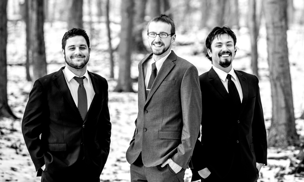 The Corey Kendrick Trio (L-R, Nick Bracewell, drums; Corey Kendrick, piano; Joe Vasquez, bass)