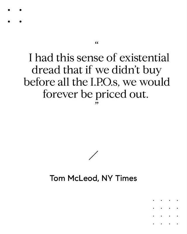Feeling giddy when friends get quotes in the NYT. Even better when they are your clients. #tommcleod #realestatebuzz #buybeforetheIPOonslaught #sfrealestate #movingyoutowhatsnext