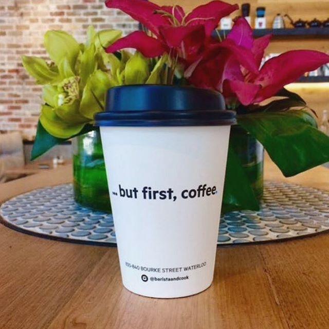 Happy Monday ...but first, Coffee #gypsyespresso #happymonday #coffee #coffeetime #coffeelover #breakfast #sydneycoffee #sydneycafe #sydneyfood #sydneybreakfast #breakfastallday #alldaybreakfast #barista #baristalife #baristalove #latte #latteart #flatwhite #cappuccino #longblack #takeawaycoffee #coffeetogo #lessmondaymorecoffee