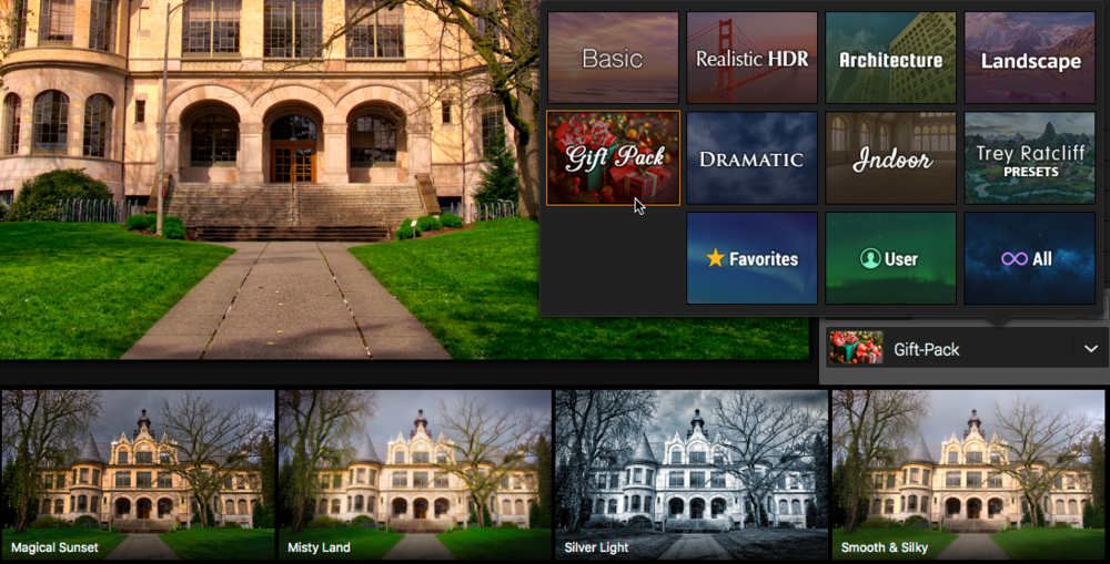 Get the new Aurora HDR Gift Pack of presets free from Macphun.
