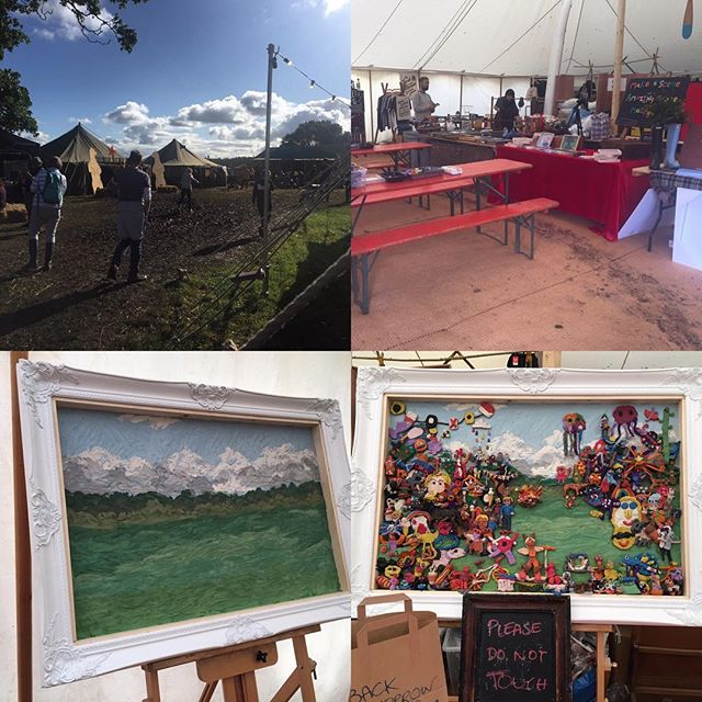 What a stunning 2 days so far at the wonderful @goodlifeexperience! Fantastic creations and the weather turned out nice again after a very soggy boggy start! Looking forward to a sunny Sunday! Come join us!