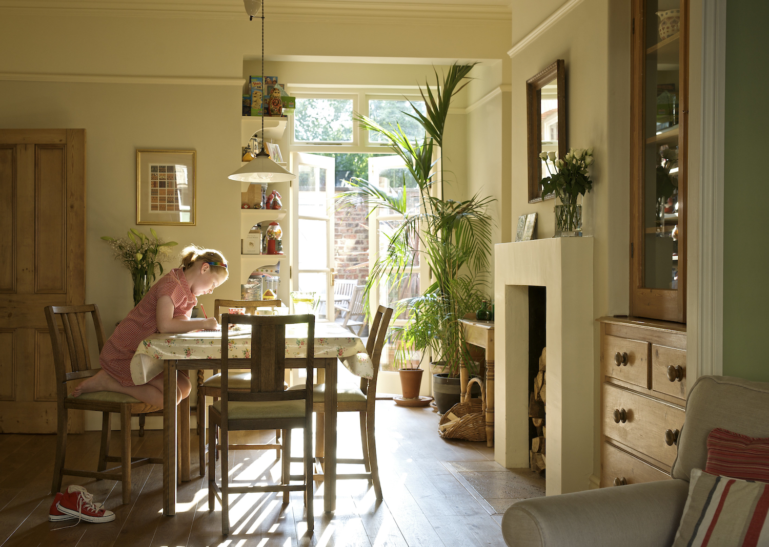 Dining Room In Edwardian Town House