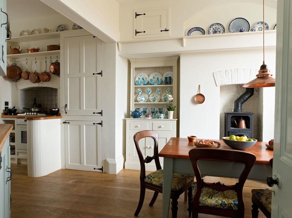 Kitchen In Seaside Retreat