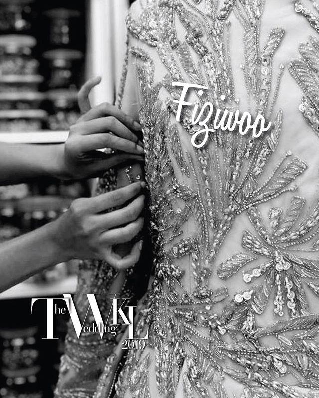 Take a sneak peek into @fiziwoo 2019 collection for TWKL at @jwmarriottkl  #wedding #theweddingkl #twkl