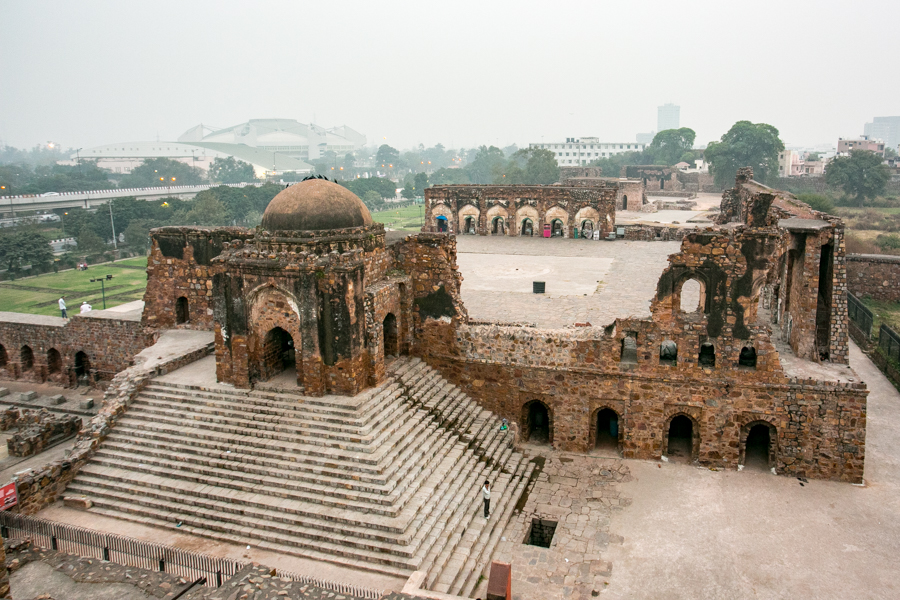 One of the central buildings of the fort. The top floor used to be the most luxurious room in the compound. It is believed that the Jinn presence is most concentrated here.