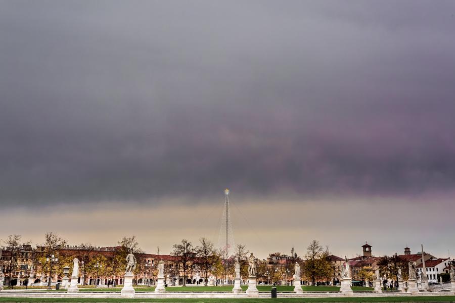 The Piazza Prato della Valle, located in Padova, is the largest square in Italy.