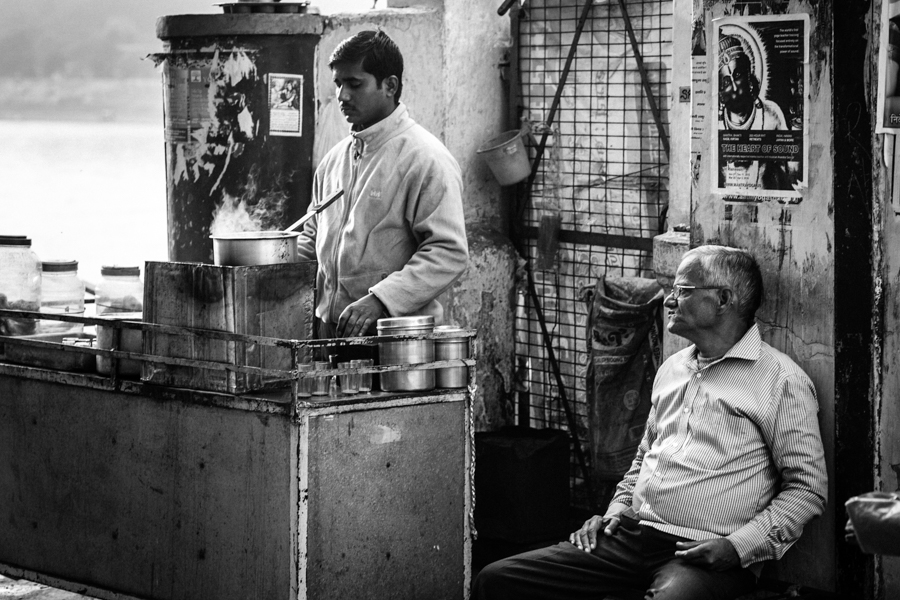 The intoxicatingly sweet chai tea prepared by street vendors is popular among locals and travelers alike.