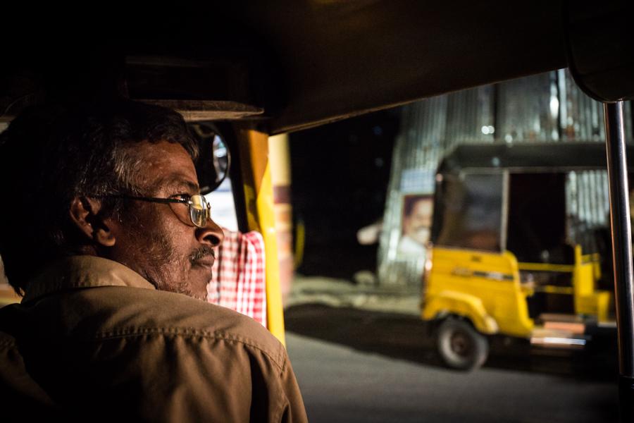 Rajendran the tuk-tuk driver.