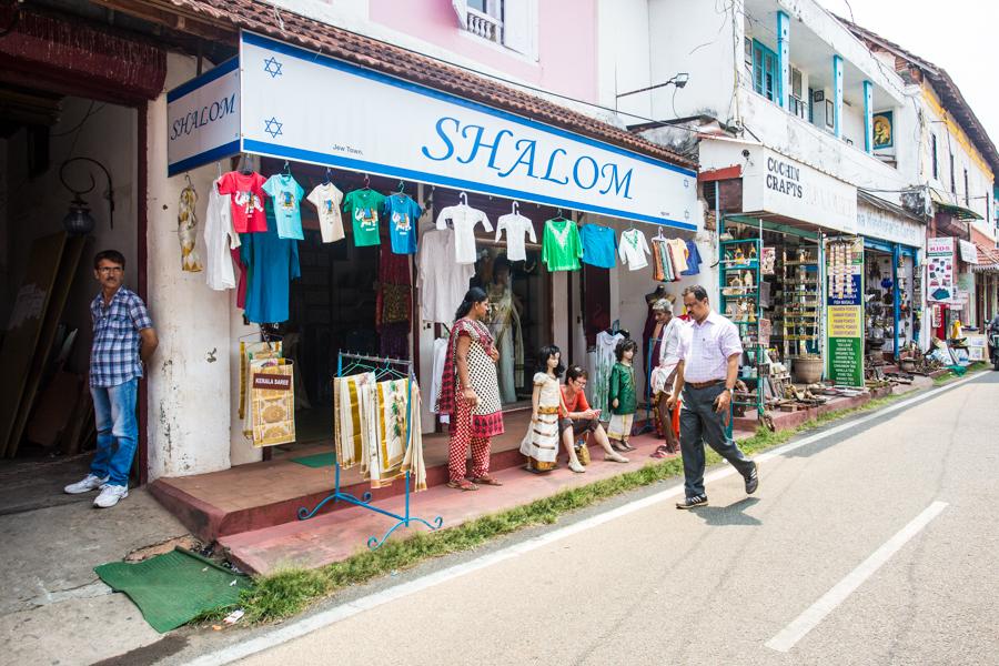 Jew Town, Fort Kochi.