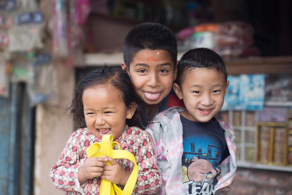 Children of Kathmandu.