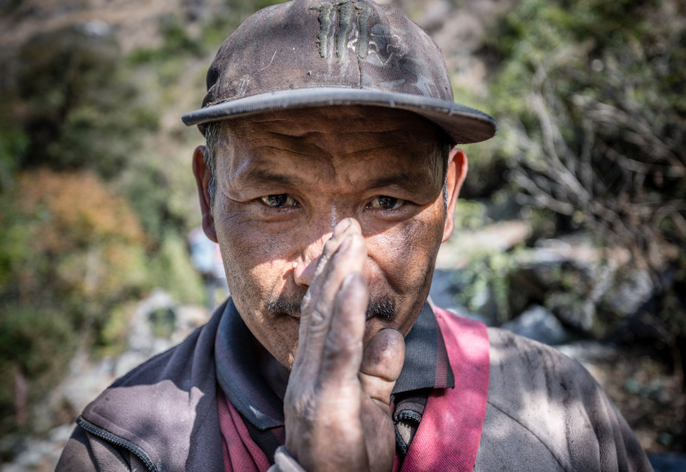 Villager in the Manaslu Reserve.