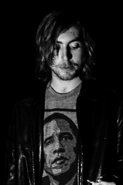Musician, Trevor Sohnen. Los Feliz, California