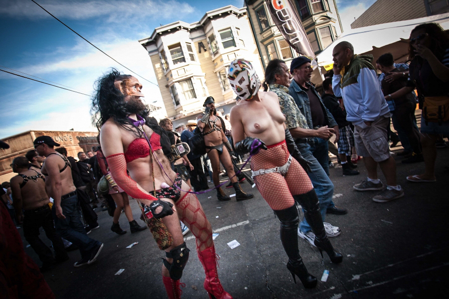 "Folstom is a ""bondage festival"" held annually in San Fransisco."