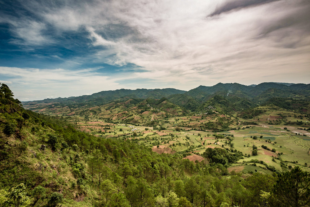 The scenery around Kalaw.