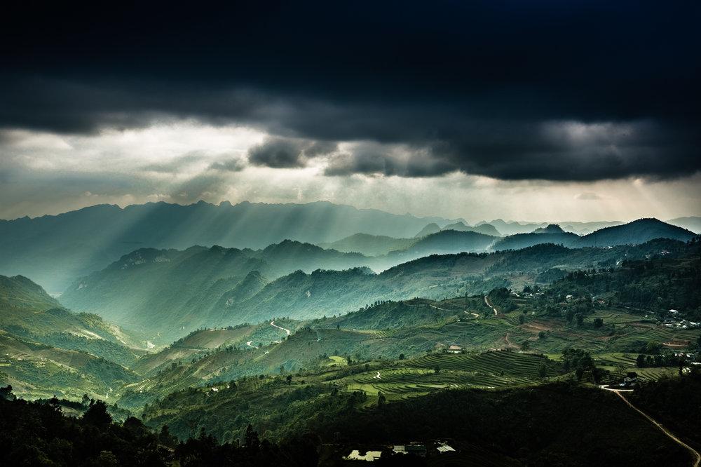 Lao Cai Province, Vietnam, January, 2017.