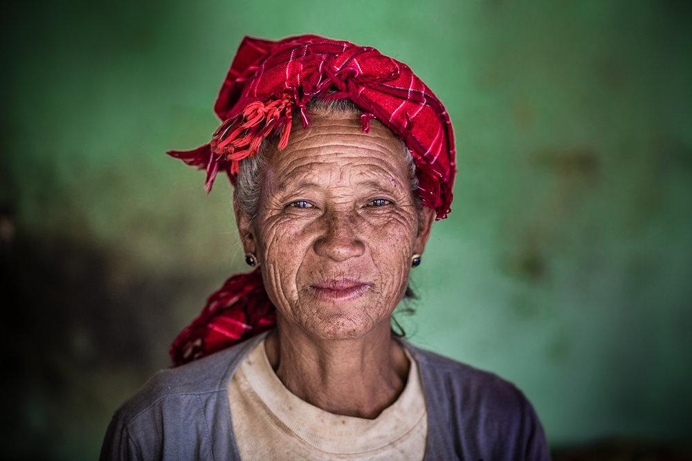 Taunggyi District, Shan State, Myanmar, May, 2017.
