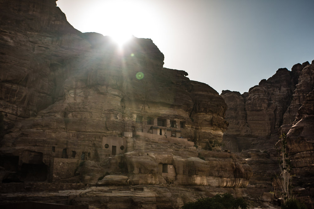 Bedouins are typically known for their tent-abodes. However, Bedouins at Petra have taken to residing in caves, building dwellings right into the cliffside. While a nominal number of Bedouins still reside within Petra, most have been relocated to the nearby the nearby, purpose-built settlement of Umm Sayhoun.
