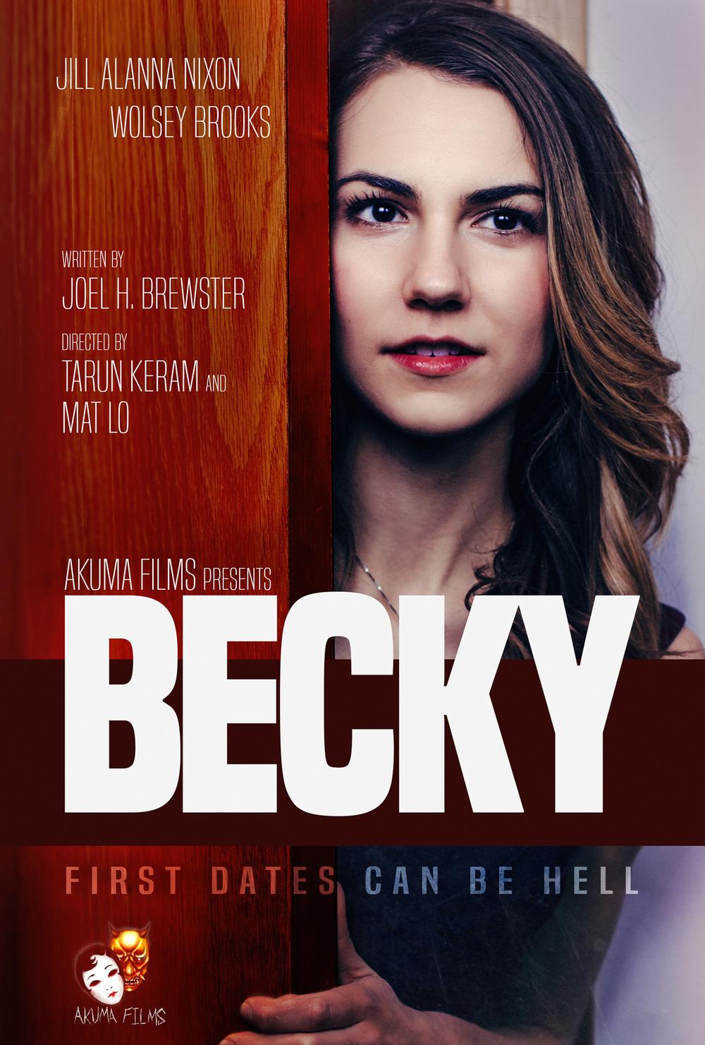 akuma films becky poster