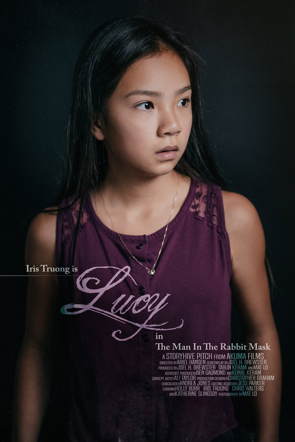iris truong is lucy the man in the rabbit mask