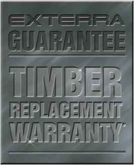 Exterra timber replacement warranty