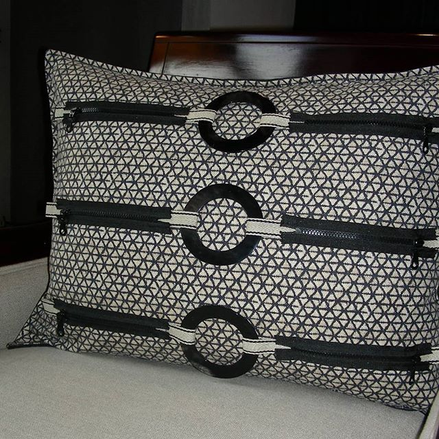 Pillow designed by me #interiordesign#softfurnishings#decorativepillow #textiles