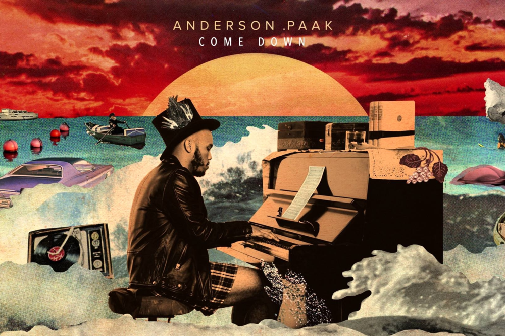 Brandon Paak Anderson – Anderson .Paak – is an American singer, rapper, and producer from Oxnard, California.