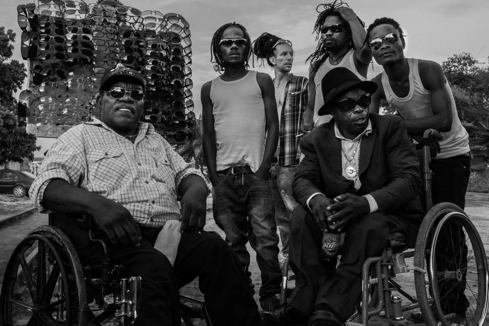 """Mbongwana –""""change"""" in Lingala – represents the band's wish to leave rumba aside and use new technologies in their songwriting. / (Photo Credit: Florent de la Tullaye)"""