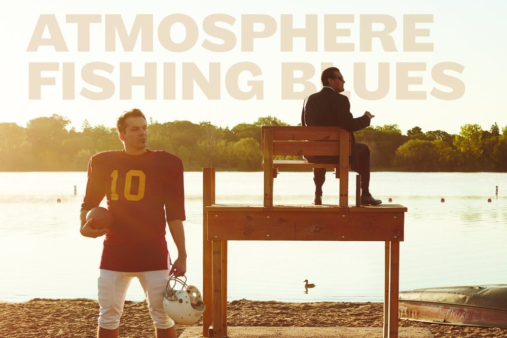 Atmosphere are a two piece band from Minneapolis, Minnesota made up of rapper Sean Daley going by the stage name Slug and DJ/producer Anthony Davis going by the stage name Ant.