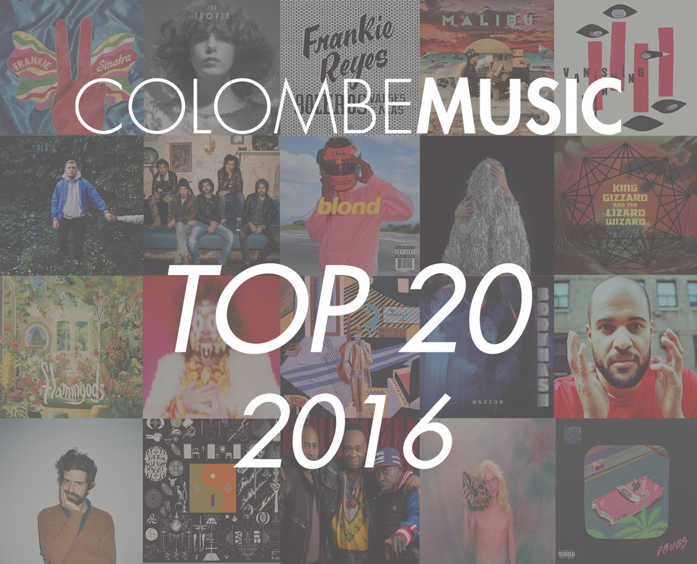 We have listed our top 20 favourite albums and EP's of the year in one single list.
