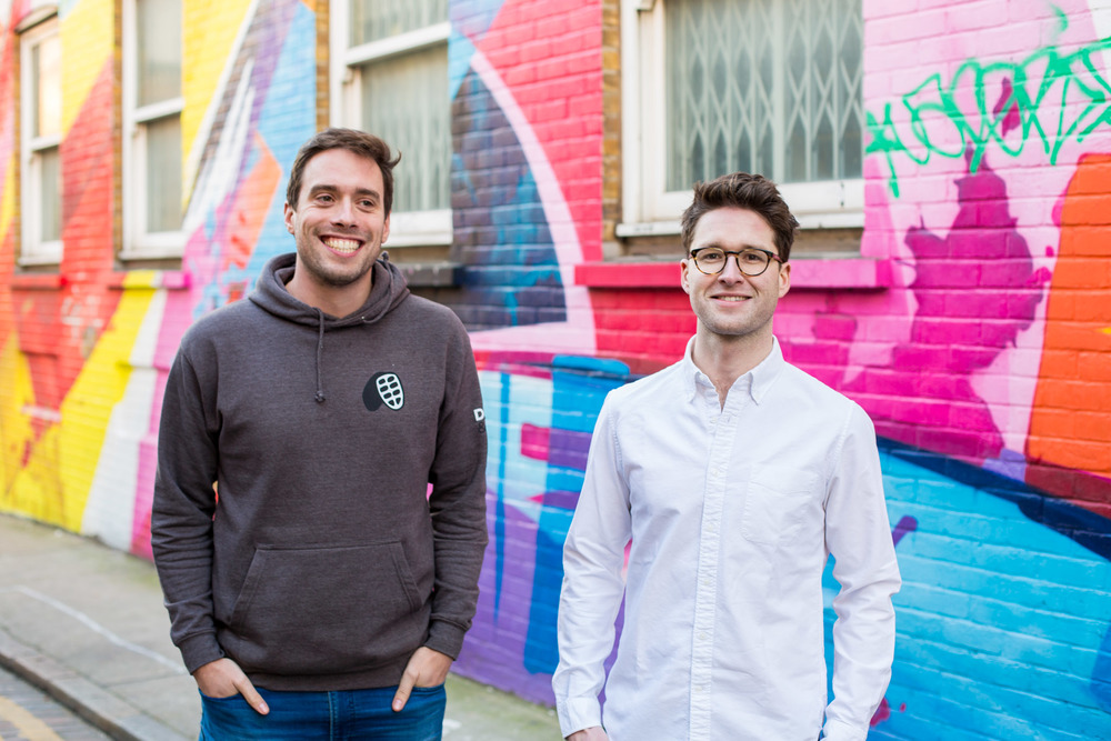 Ed and Rich, Founders of Doisy & Dam - Superfood chocolate at it's best!