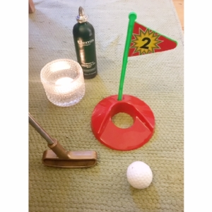 Home golf spa