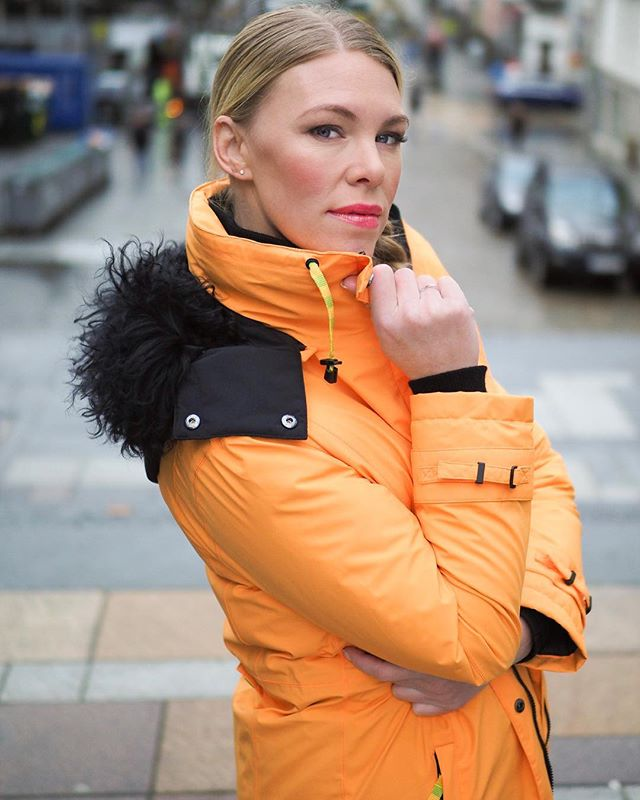 #Autumn is here, and #winter is coming. Time for the hot orange Style 137. With a warm down lining, it also comes in black, blue, brown and white. 