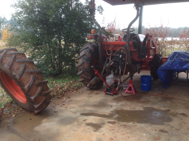 Tractor Broken 2013