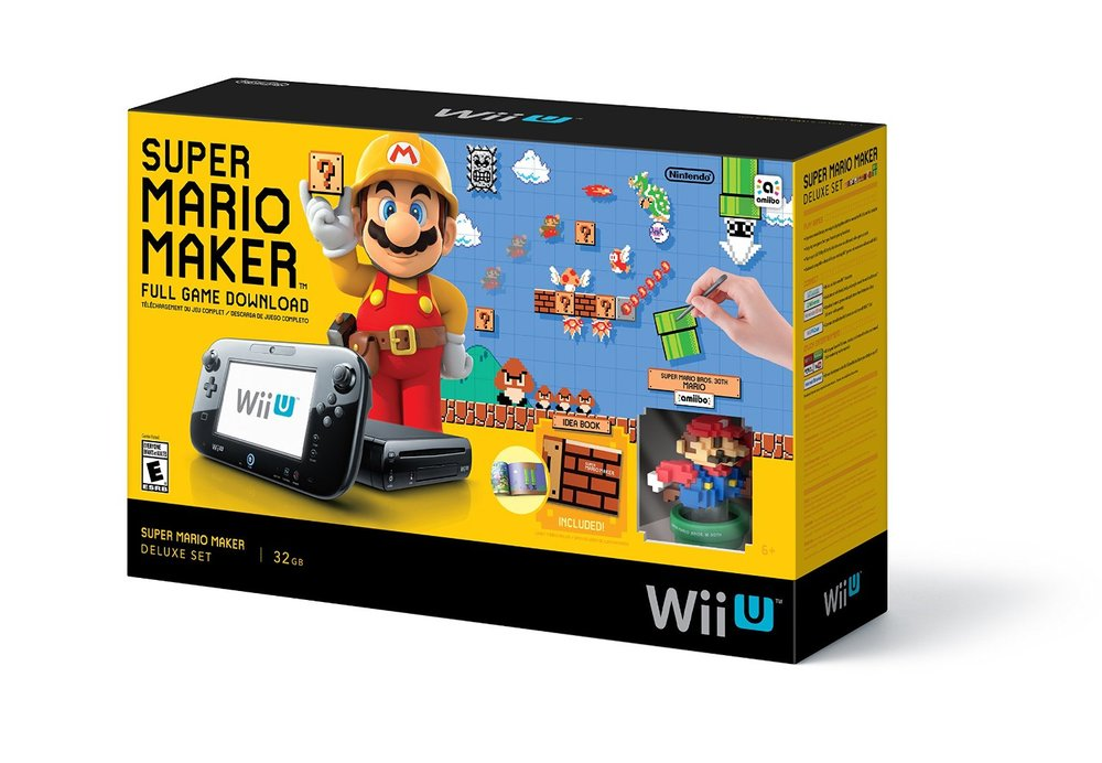 Ensemble Wii U Super Mario Maker