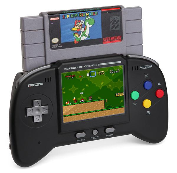 Console portable NES/SNES