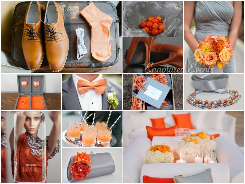 Orange & Gray 12